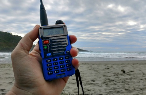 Using a Baofeng handheld to work Satellites