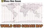 World Grid Square Map PDF
