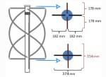 Изготовление четырехдиапазонной спиральной антенны