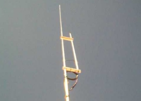 50MHz / 6m J-pole Antenna by VK4ADC