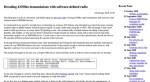 Декодирование 433 МГц с SDR