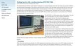 Repairing HP 8753C VNA