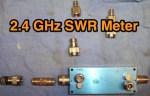 Simple 2.4 GHz SWR Meter