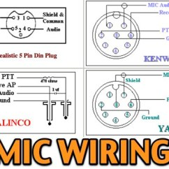 Microphone Wire Diagram Rv Slide 11 Most Popular Mic Wiring Diagrams