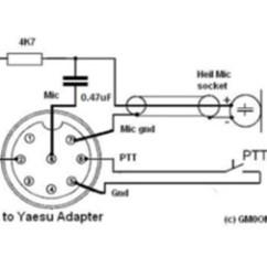 Heil Microphone Wiring Diagram 2 Gang Switch Lights Yaesu Pin Connectors : Resource Detail