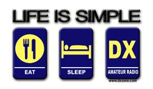 Eat Sleep DX - Life is simple