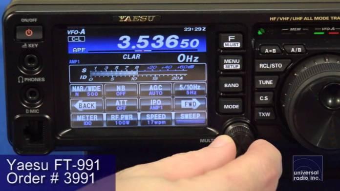Yaesu FT-991 Review video