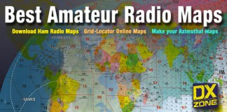 Amateur Radio Map