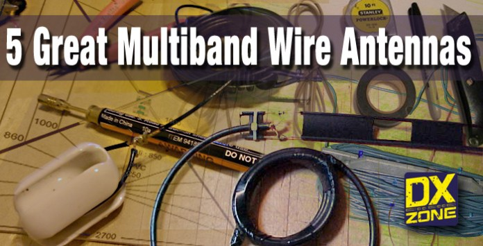 5 Great Multiband Wire Antenna Projects