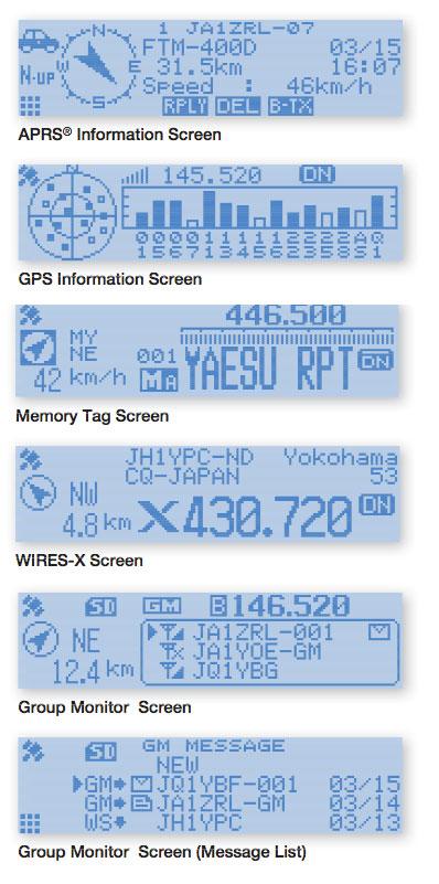 Yaesu-FTM-100DR-Display