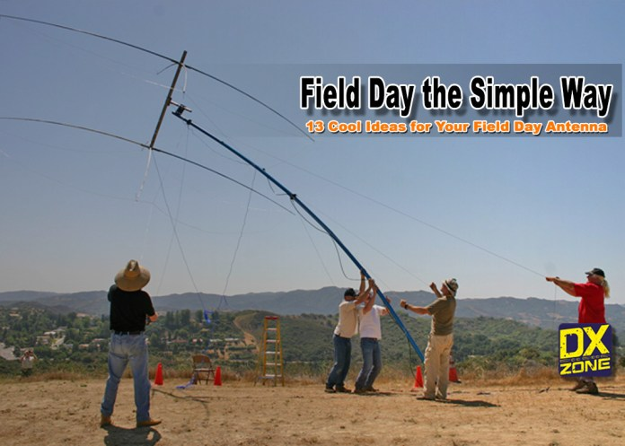 13 Cool Ideas for Your Field Day Antenna