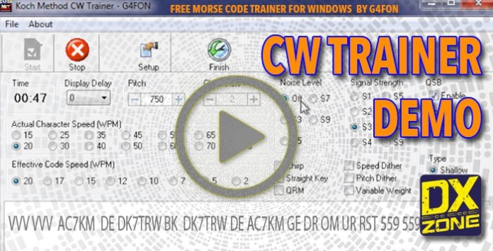 CW Trainer Demo