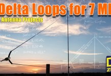 Delta Loop Antennas for 7 MHz