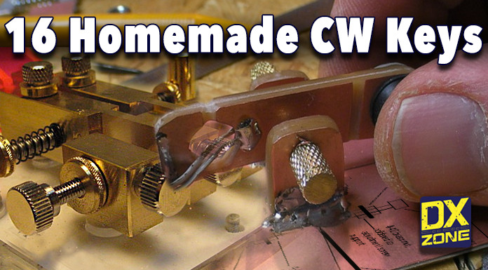 16 Awesome Homemade Morse Keys
