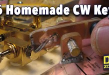 Homemade CW Key