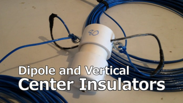 How to make Dipole and Vertical Center Insulator