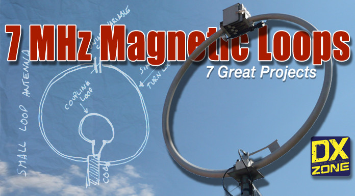 7 Magnetic Loop Antennas for 7 MHz