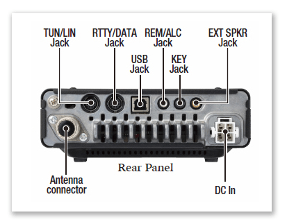 FT-891 Rear