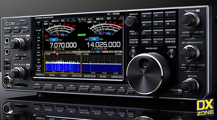 IC-7610 Special Page and First European Prices