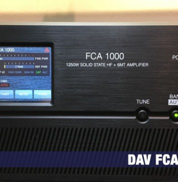 FCA1000 Power Amplifier
