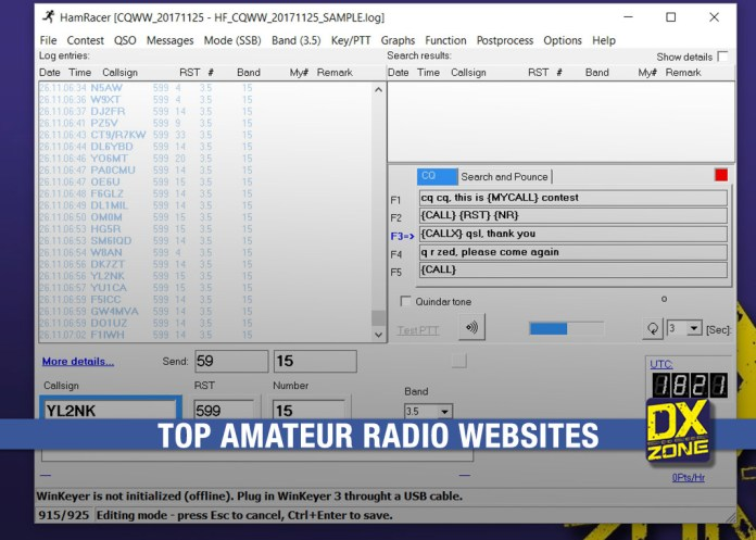 Top Amateur Radio Websites – Issue 1804