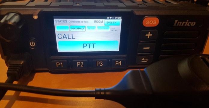 Peanut on a network radio