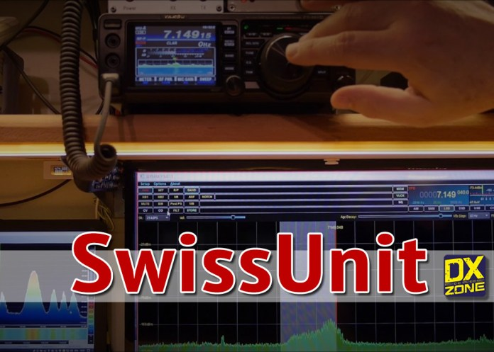 SwissUnit  automatic antenna switch for a second receiver