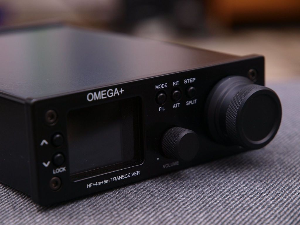 Omega+ Radio Detail