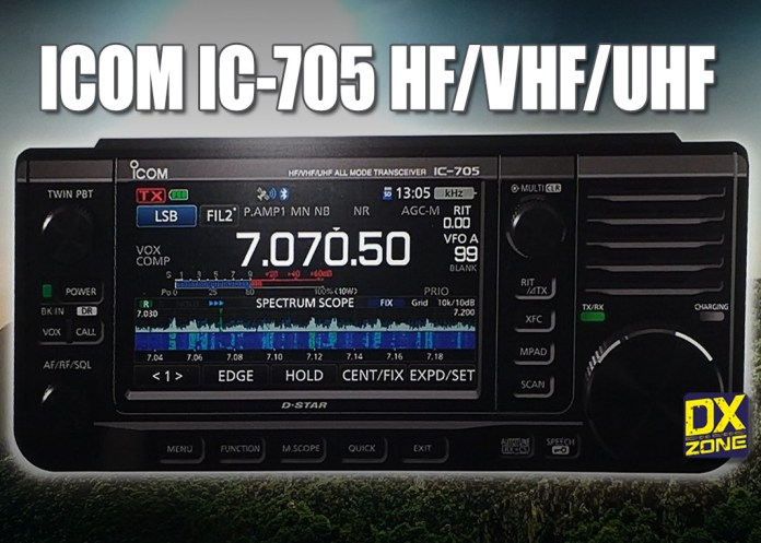 ICOM IC-705 – New Product