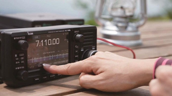 ICOM IC-705 Official Video