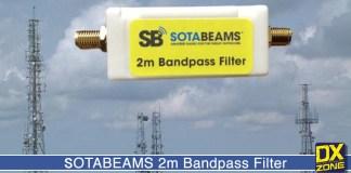 SOTABEAMS bandpass filter