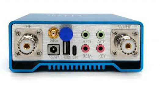Задняя часть Радио Q900