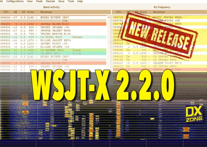 WSJT-X 2.2.0  new version available to download
