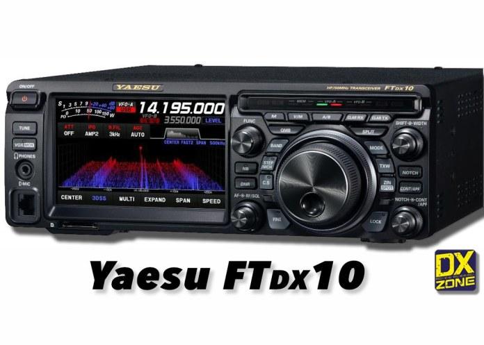 Yaesu FTDX10 – New product Announcement