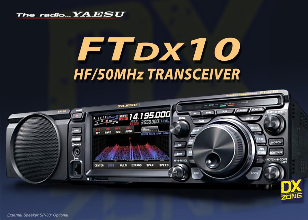Yaesu FTDX10 Radio