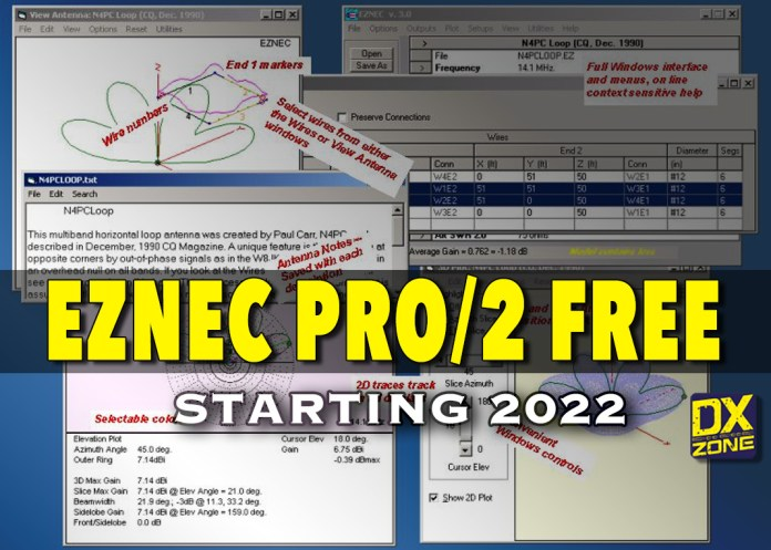 EZNEC (PRO/2) WILL BE FREE