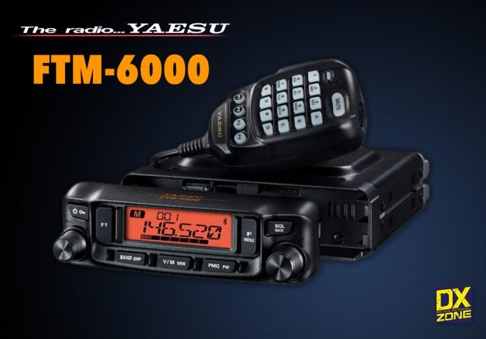 Yaesu FTM-6000 Dual Band Mobile Transceiver