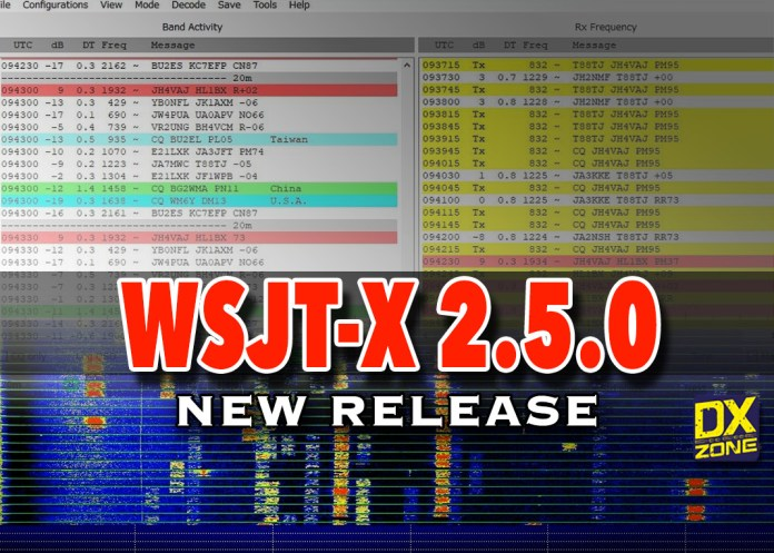 WSJT-X 2.5.0 New version available!