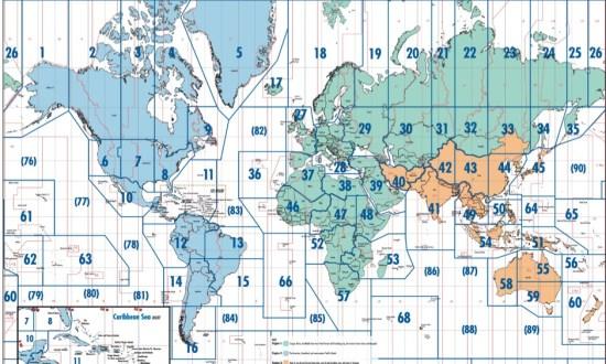 ITU Zones map