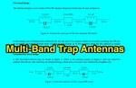 Multiband trap antennas