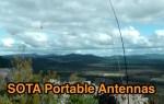 Overview on some SOTA portable antennas