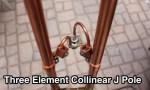 Three Element Collinear J Pole