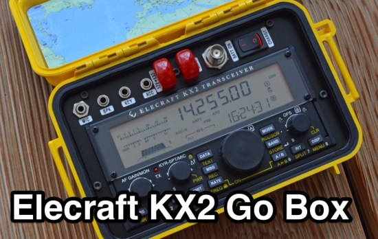 Elecraft KX2 Go Box