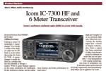 ICOM IC-7300 QST Review