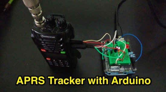 APRS Tracker with Arduino