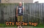 GTV 50 - 3W Yagi Antenna