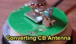 Converting RadioShack CB Antenna to 2m