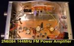 VHF FM Power Amplifier