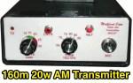 160m 20w AM transmitter