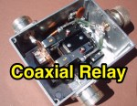 QRO Coaxial Relay for 50 MHz